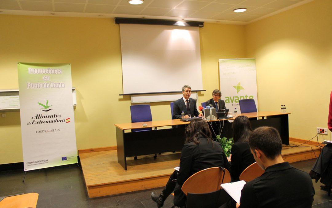 Alimentos de Extremadura llega a más de 530 puntos de venta de Alemania y se promociona en superficies comerciales del País Vasco, Madrid y Cataluña