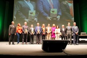 Más de 300 participantes de diversos sectores se han dado cita en el VIII FORO EXTREMADURA EXPORTA donde se han entregado los premios a la internacionalización