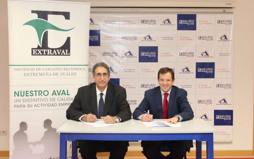 Extraval y Banca Pueyo abren una línea de financiación especial para pymes de 5 millones de euros