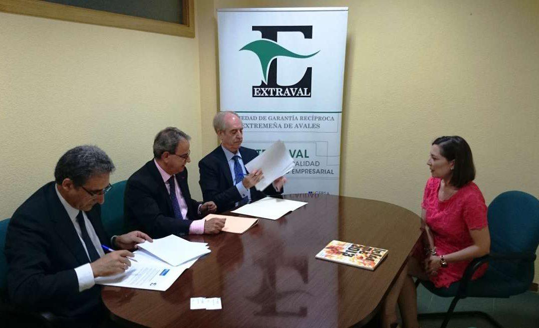 Extraval y Banco Caixa Geral ponen en marcha una línea de ayudas a pymes de 6 millones de euros