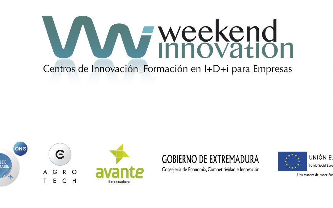 """37 empresarios extremeños descubrirán las potencialidades innovadoras ocultas en sus empresas y proyectos en la Jornadas Formativas """"Weekend Innovation"""""""