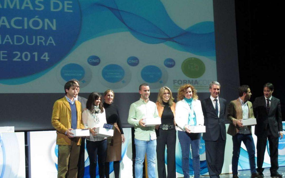 Teniente presenta la plataforma E + TALENTO en la clausura de los Programas de Formación de Extremadura Avante 2014