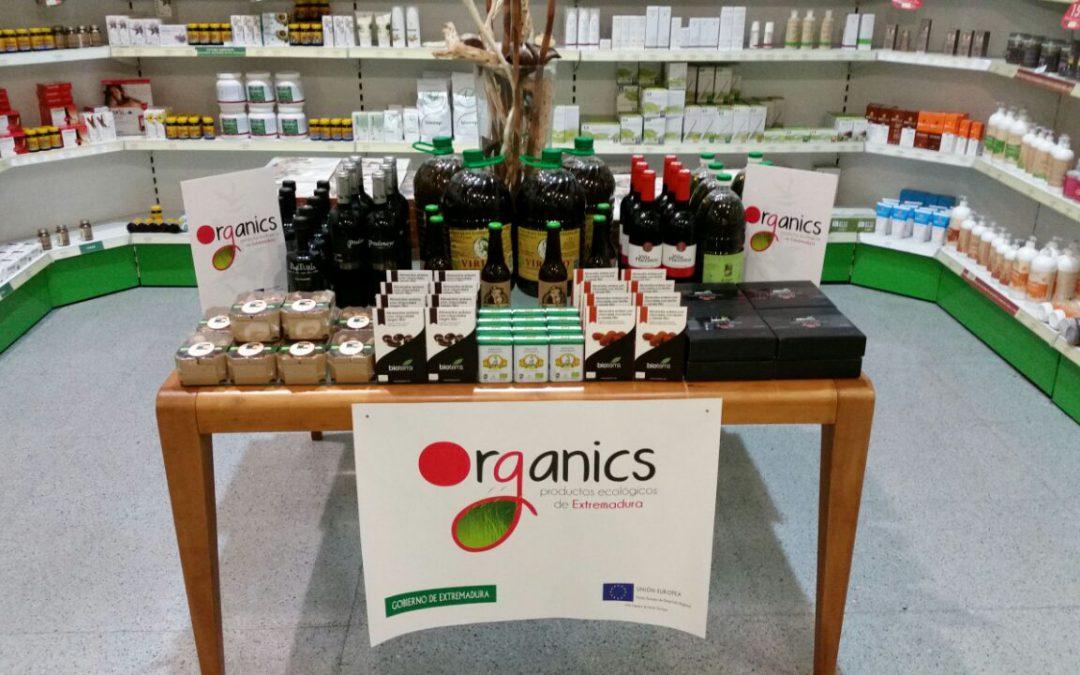 Empresas extremeñas se promocionan en la mayor cadena de distribución ecológica nacional a través de Organics
