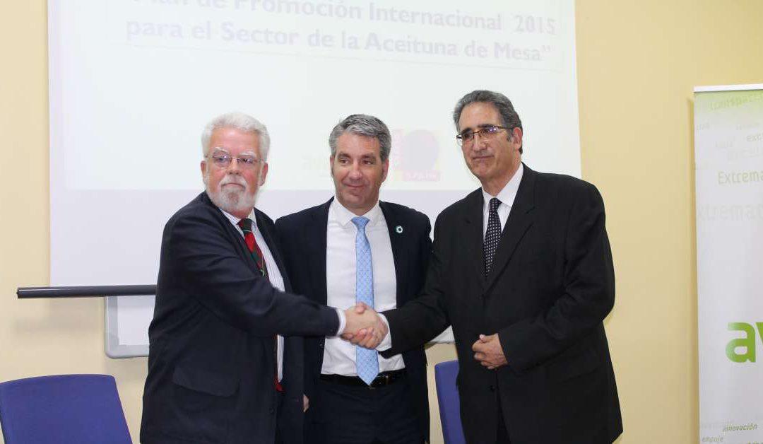Extremadura Avante e INTERACEITUNA aúnan esfuerzos para promocionar las aceitunas de mesa en Rusia