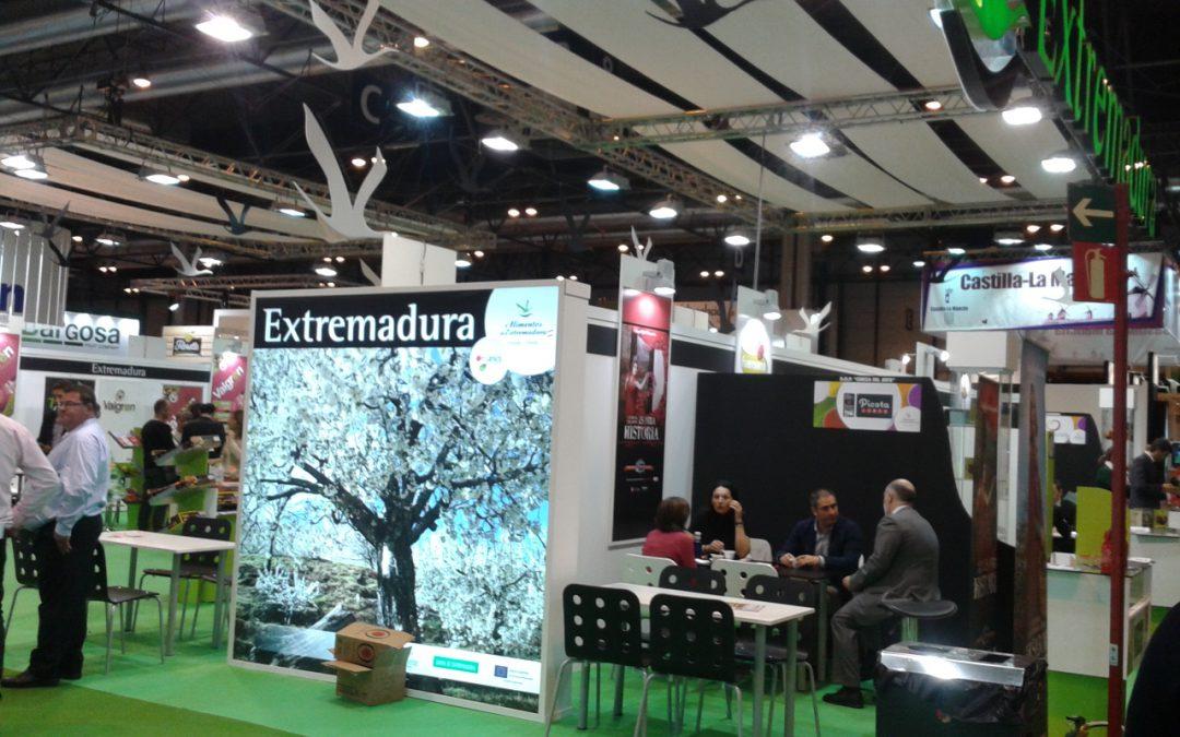 Extremadura Avante ha acompañado a 25 empresas del sector hortofrutícola de la región en «Fruit Attraction» 2015