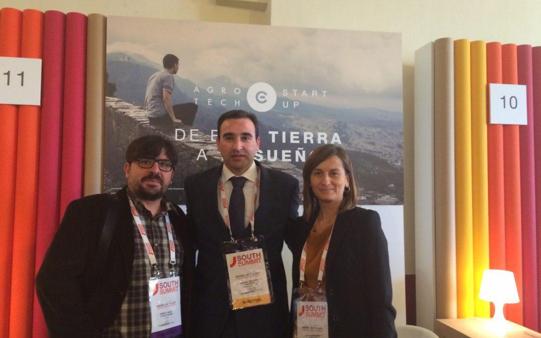 Extremadura presenta sus proyectos de emprendimiento tecnológico en el South Summit 2015 que se celebra en Madrid