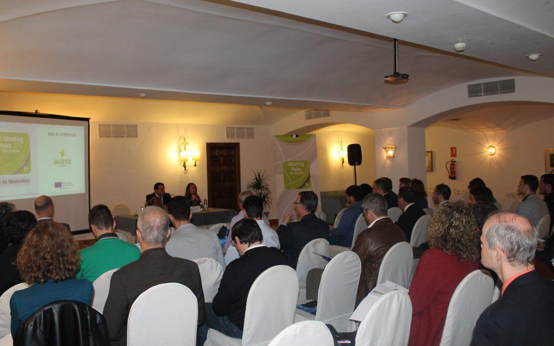 Empresas extremeñas se acercan al mundo del comercio exterior en el II Meeting Point 2015