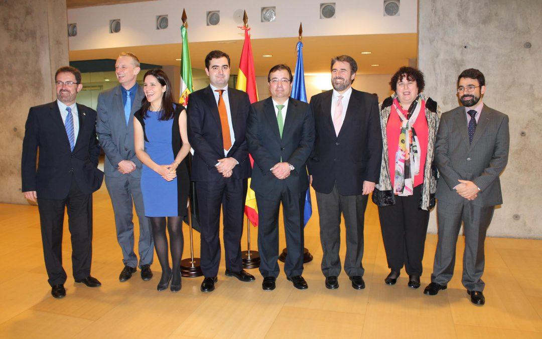 Vara indica que Extremadura es un buen ejemplo para Europa de lo que se puede hacer si se sabe a dónde se quiere llegar