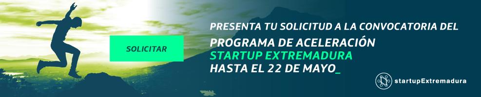 """Se abre la convocatoria para participar en el """"Programa StartUp Extremadura de Aceleración de Iniciativas Innovadoras y/o de base tecnológica"""""""