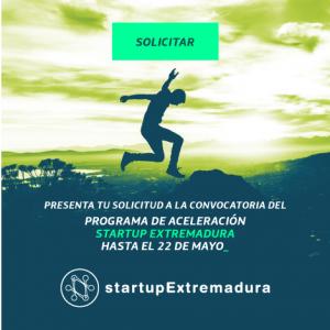 startupExtremaduraConvocatoria facebook