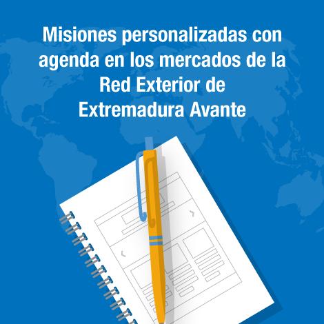 El servicio de agendas personalizadas de la Red Exterior de Extremadura Avante estará en funcionamiento hasta el próximo 15 de noviembre