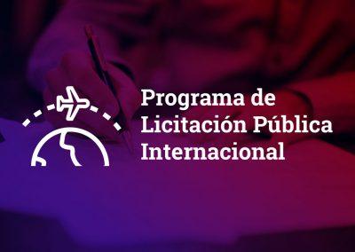 Programa de Licitación Pública Internacional