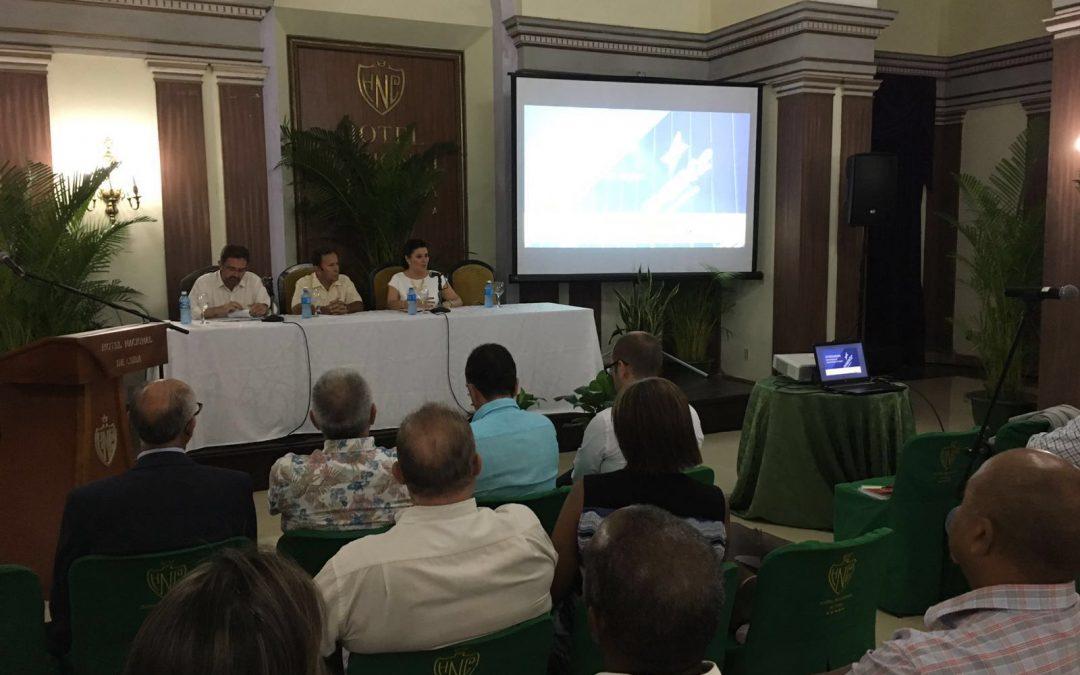 La delegación extremeña en Cuba pone las bases para cerrar acuerdos de colaboración con distintos organismos y empresas del país caribeño