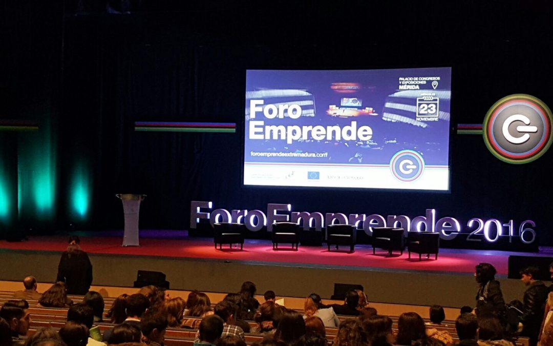 Navarro pide que se reconozca la contribución de los emprendedores y empresarios extremeños al desarrollo económico de la región