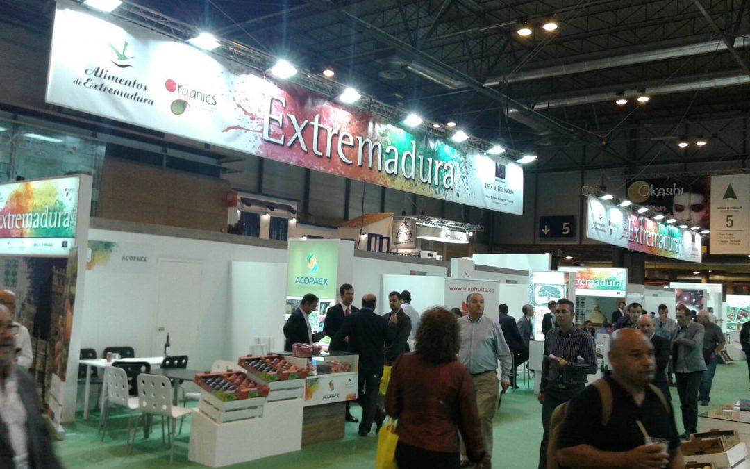 Más de treinta empresas extremeñas participan en la octava edición de Fruit Attraction que se inicia hoy en Madrid
