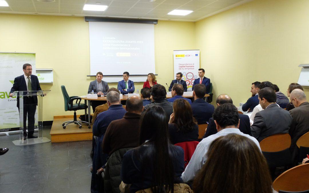 Extremadura Avante e Icex celebran la I Jornada divulgativa sobre Licitaciones Internacionales en Mérida