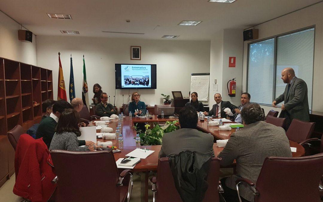 El Comité Estratégico de Extremadura Región Emprendedora Europea planifica el calendario de actuaciones 2017