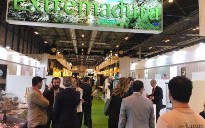 El sector agroalimentario extremeño se promociona en la 31ª edición del Salón de Gourmets en Madrid