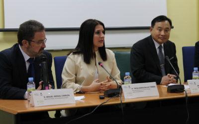 Corea del Sur estrecha relaciones comerciales con Extremadura