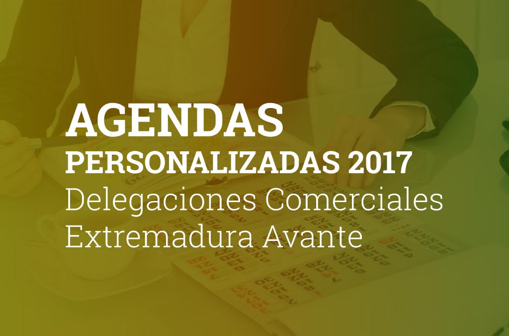 Agendas personalizadas 2017