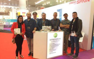 Extremadura Audiovisual se presenta a nivel internacional en el Festival de Cine de Cannes