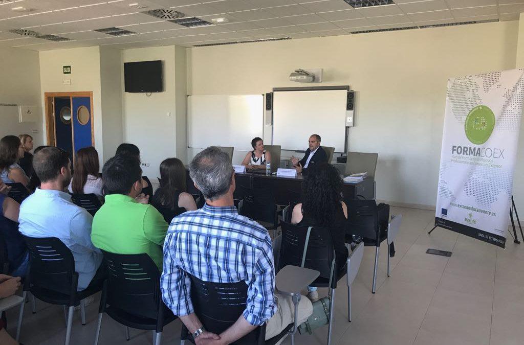 Finaliza la formación teórica de Formacoex 2017 en Mérida