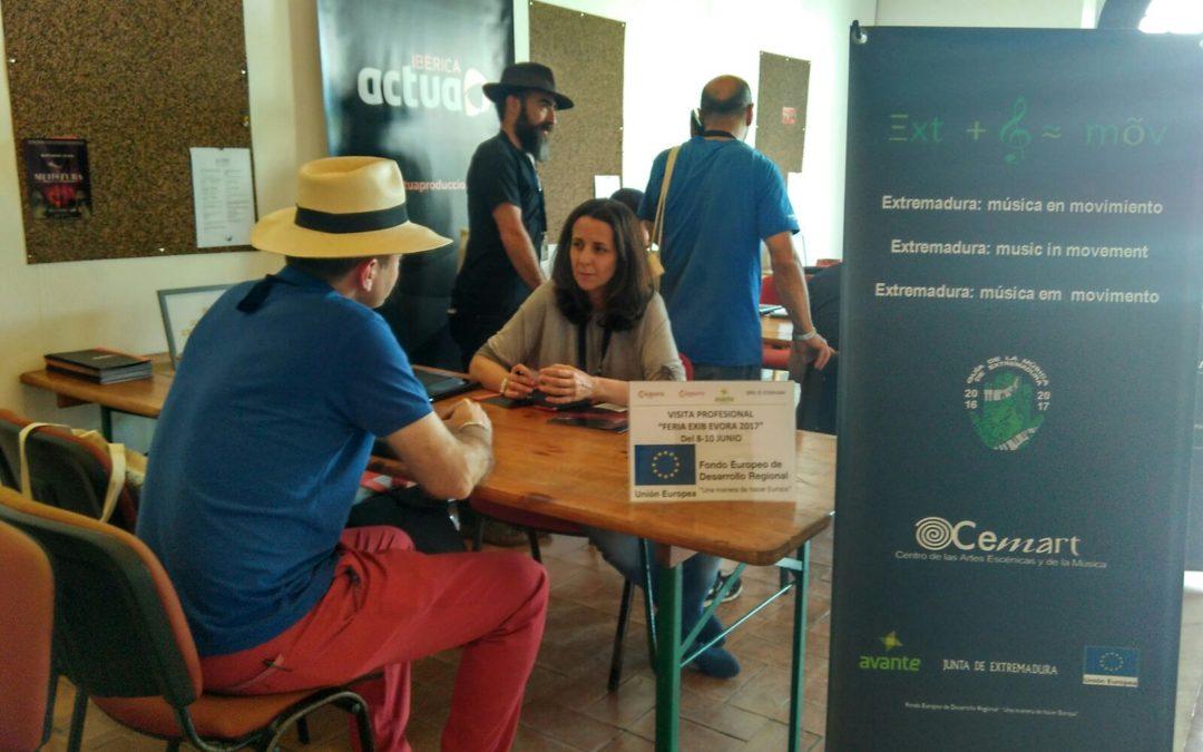 Extremadura participa en la IV Expo Iberoamericana de Música EXIB, que se celebra en Évora