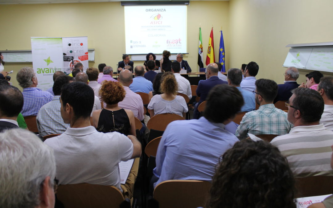 Begoña García subraya que uno de los retos del sector del ibérico es la internacionalización