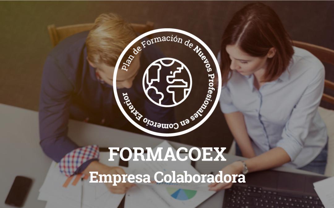 Empresa Colaboradora – Plan de Formación de nuevos Profesionales en Comercio Exterior, FORMACOEX 2017