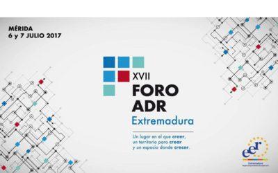 La Junta de Extremadura en colaboración con Extremadura Avante organiza la XVII edición del Foro de la Asociación Española de Agencias de Desarrollo Regional