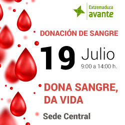 Extremadura Avante organiza un día de jornada de donación de sangre