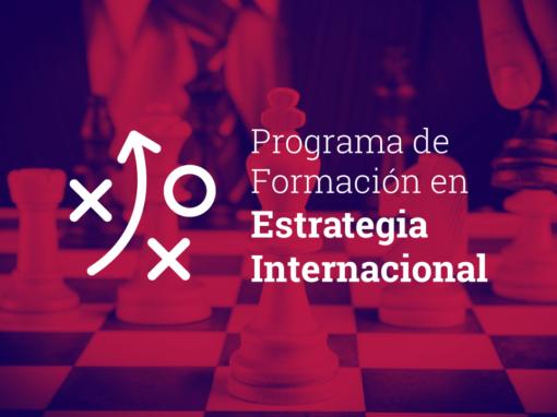 Programa de Formación en Estrategia Internacional 2020