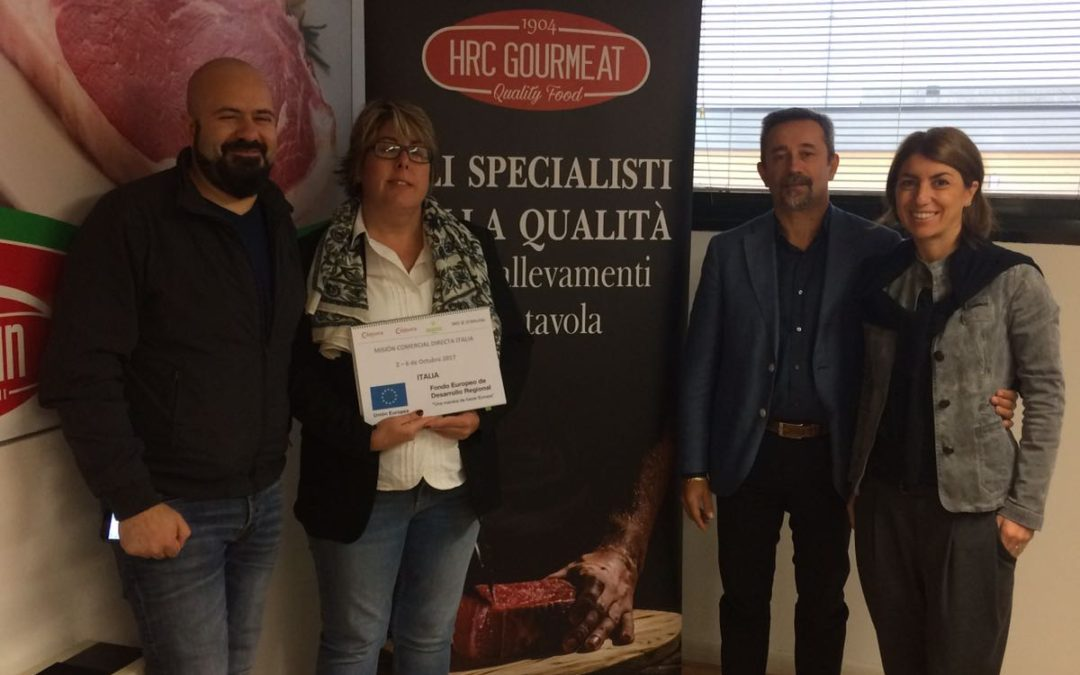 Empresas extremeñas establecen contactos comerciales con el mercado italiano