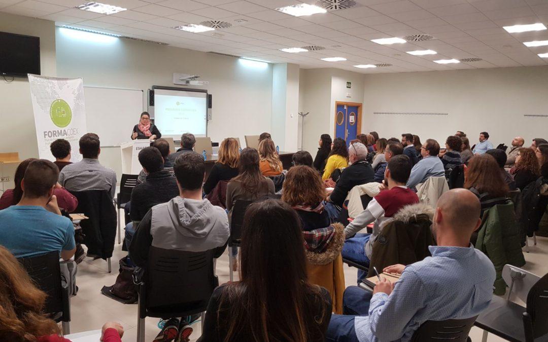 Extremadura Avante celebra la jornada de inauguración de la formación teórica Formacoex 2018