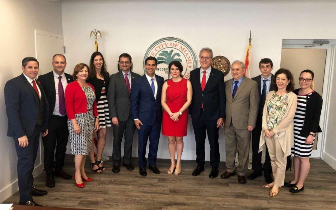 Extremadura aborda esta semana en Miami el intercambio cultural, institucional y comercial en una misión integrada