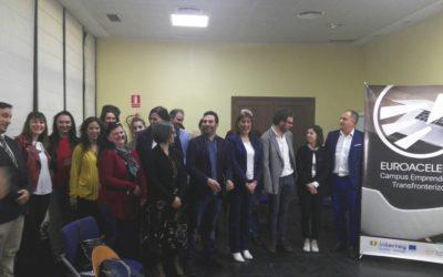 """El proyecto de cooperación transfronteriza """"EUROACELERA"""" impulsará el emprendimiento y la creación de proyectos empresariales en Extremadura, Alentejo y centro de Portugal"""
