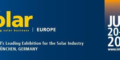 El sector energético extremeño se cita en Intersolar 2018