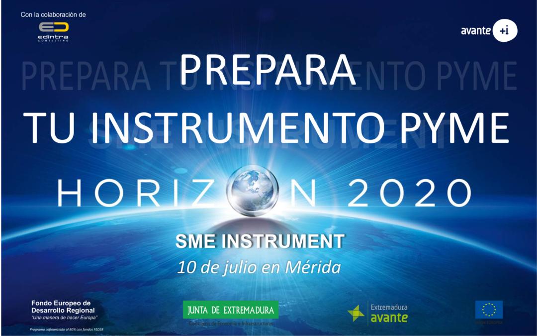 SESIÓN INSTRUMENTO PYME-H2020