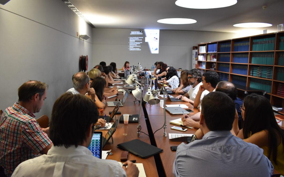 Portalegre acoge la cuarta reunión de coordinación de los socios del Proyecto de Cooperación Transfronteriza «Euroacelera»