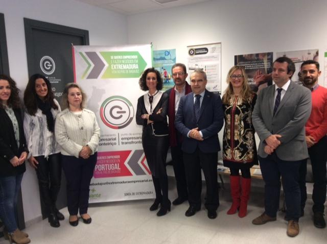 El PAE de Badajoz prestará, desde hoy, asesoramiento sobre el mercado portugués y canalizará las demandas de empresas lusas con interés en Extremadura