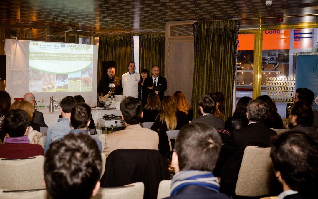 Más de setenta personas se dan cita en el evento gastronómico del proyecto «Prodehesa Montado» en Bruselas