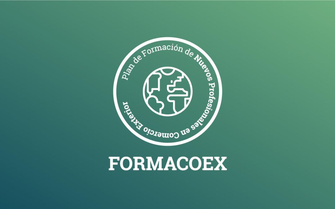 Abierto el plazo de inscripción para la formación teórica de Formacoex 2019