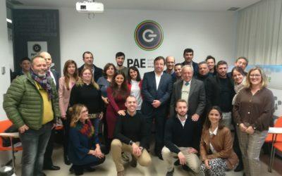 Fernández Vara destaca la importancia de los Puntos de Acompañamiento Empresarial