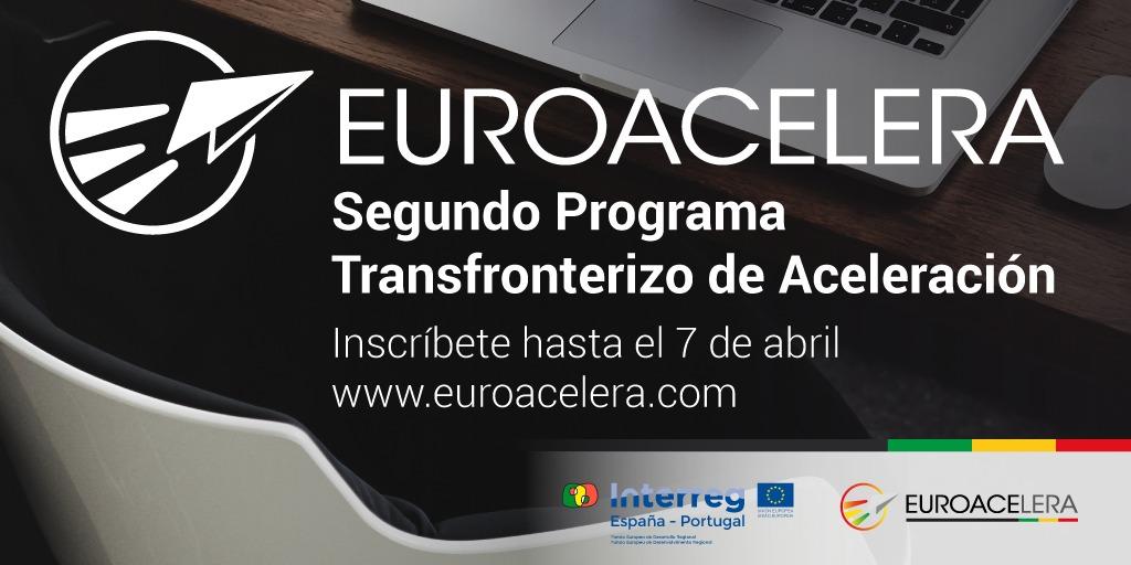 Euroacelera amplía hasta el 7 de abril el plazo de inscripción para participar en el Programa Transfronterizo de Aceleración