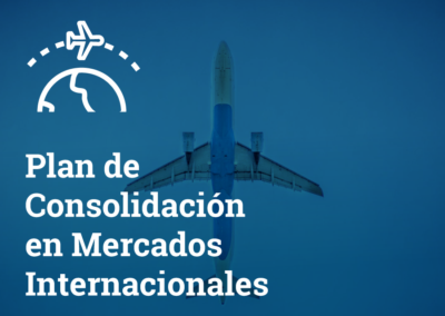 Plan de consolidación en mercados exteriores 2020