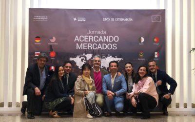 Más de cincuenta empresas extremeñas han participado en la jornada Acercando Mercados 2019