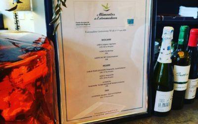 Alimentos de Extremadura se promociona en la Semana Gastronómica Hispania London 2019