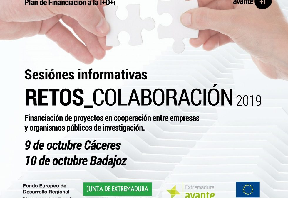 SESIÓN RETOS-COLABORACIÓN 2019. Cáceres