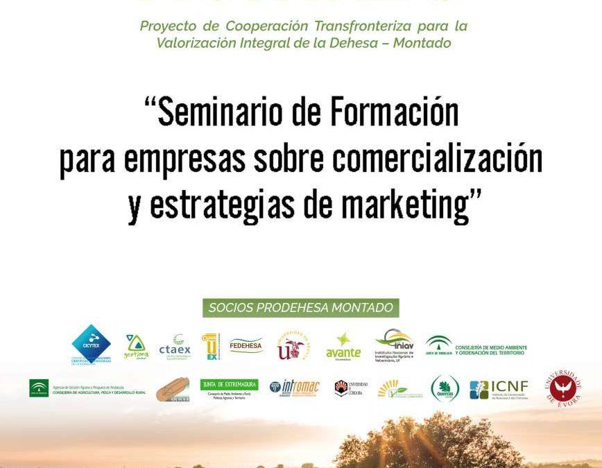 Extremadura Avante organiza tres seminarios de comercialización y estrategias de marketing para aumentar la competitividad de las empresas de Extremadura y Portugal