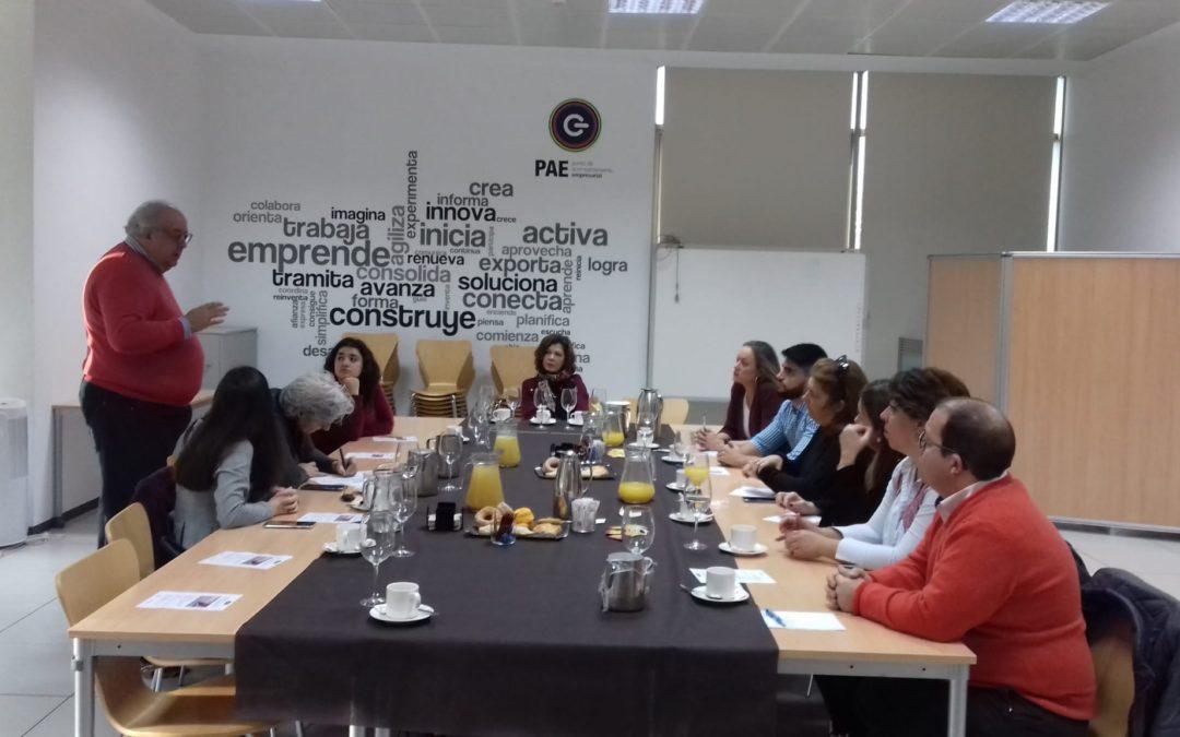 El PAE de Don Benito acoge una nueva sesión de Networking en el Plan de Acompañamiento y Seguimiento del Autónomo y la Pyme